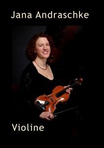 Jana Andraschke Violine