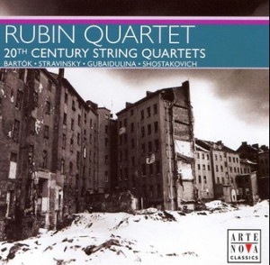 Rubin quartet 20the Century Quartets A